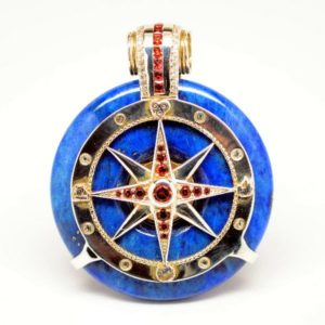 Quantum-stones-Galatic-Compass-garnet-topaz-Lapis-Lazuli-1A