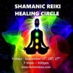 shamanic reiki circle flyer