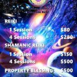 OC Shamanic Reiki SESSION PRICES