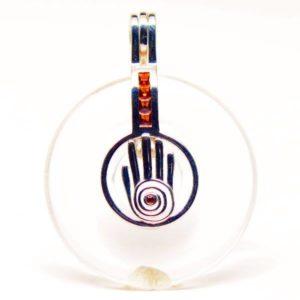 Shaman Reiki Hand Chakra Clear Quartz