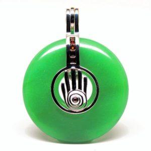 Shaman Reiki Hand Chakra Green Adventurine
